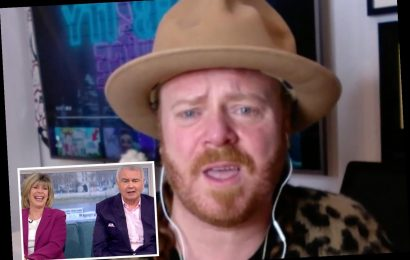 Shocked Eamonn Holmes told to 'stop moaning' about his chronic pain by Keith Lemon leaving Ruth Langsford in hysterics