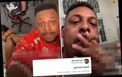 NBA legend Paul Pierce posts bizarre two word response after 'video of him partying with strippers appeared online'