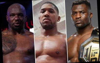 Anthony Joshua cleared to face Francis Ngannou but Eddie Hearn prefers two-fight UFC and boxing deal with Dillian Whyte