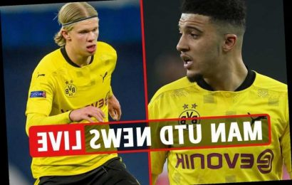 Man Utd 'have the funds' for £150m Haaland deal, 'everything but price' agreed for Jadon Sancho transfer