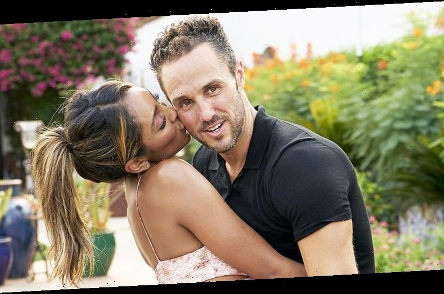 Bachelorette Tayshia Adams and Zac Clark's Relationship Timeline: Photos