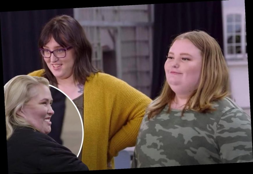 Mama June reunites with estranged daughters Pumpkin, 21, & Honey Boo Boo, 15, for first time in a YEAR in tense scene