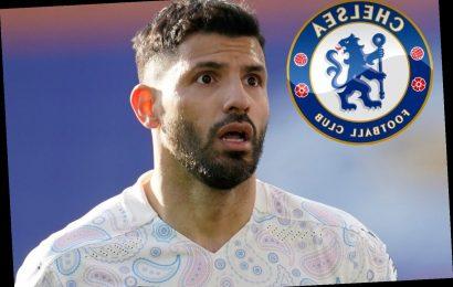 Chelsea free transfer 'tempting' Sergio Aguero as Man City striker looks to break Shearer's Premier League goals record