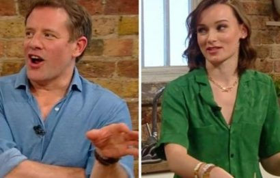 'Don't look at me' Matt Tebbutt red-faced after awkward exchange with Masterchef finalist