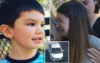 Aiden Leos death: $50,000 reward offered to find 'road rage shooter' who killed 6-year-old as mom says 'my life's over'