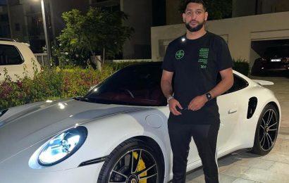 Amir Khan spends £2,000 waterproofing £160,000 Porsche – despite living out in Dubai desert