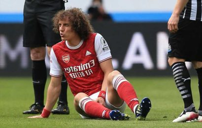 Arsenal star David Luiz 'looking for new club as injured defender eyes MLS free transfer with two months left on deal'
