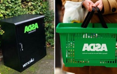 Asda trials secure 'delivery boxes' to drop off groceries when customers aren't home