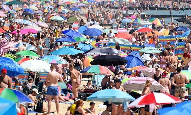 Bank Holiday heatwave! 'Monsoon May' is set to be replaced by 73F heat
