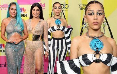 Billboard Awards Worst Dressed! Doja Cat and Nick Jonas miss the mark