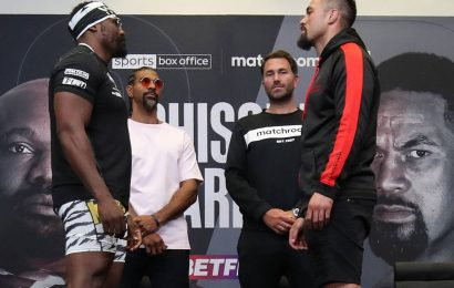 Boxing: Joseph Parker v Derek Chisora – main event start time, fight undercard, odds, live streaming and how to watch