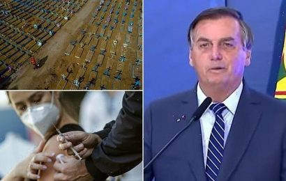 Brazil's president says China created COVID-19 to spark chemical war