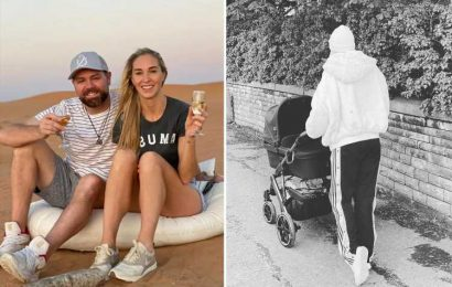 Brian McFadden and fiancée Danielle Parkinson welcome a baby girl after miscarriage heartbreak