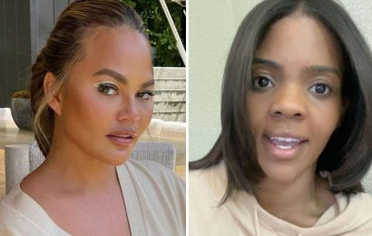 Candace Owens says Chrissy Teigen 'should've been canceled long ago' after 'urging Courtney Stodden, 16, to kill self'