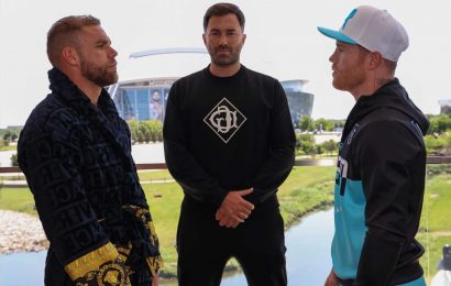 Canelo Alvarez and Billy Joe Saunders fight purses revealed: How much will Mexican and Brit earn in Texas super-fight?