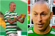Celtic hero Scott Brown drops f-bomb live on TV after playing his final home game at Parkhead before move to Aberdeen