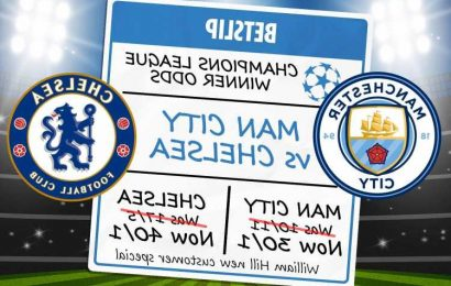 Champions League final special offer and free bets: Get Man City at 30/1 or Chelsea at 40/1 with William Hill odds boost