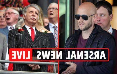 Daniel Ek meets Arsenal Supporters Trust with takeover consortium as Kroenke 'puts £1.7bn club on SALE' -updates