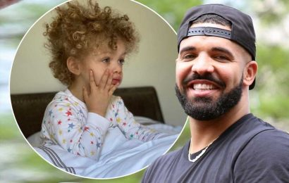 Drake shares new photo of son Adonis in Mother's Day tribute