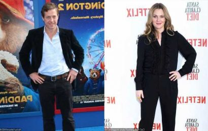 Drew Barrymore Recalls What She Did to Hugh Grant During Their Drunk Make Out Session