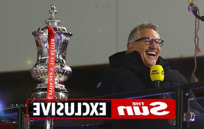 Gary Lineker admits he fears crying live on BBC TV if Leicester beat Chelsea to win first FA Cup