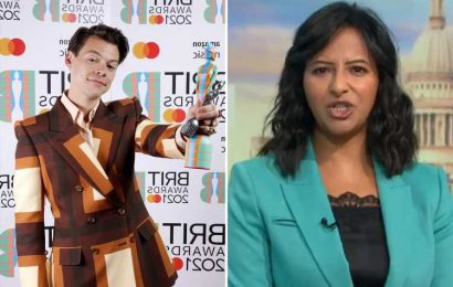 Good Morning Britain's Ranvir Singh takes savage swipe at Harry Styles after his shock appearance for Brit Award win