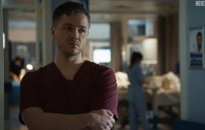 Holby City viewers horrified as 'vindictive' Dom Copeland lies to get Sacha Levy fired – then takes his place