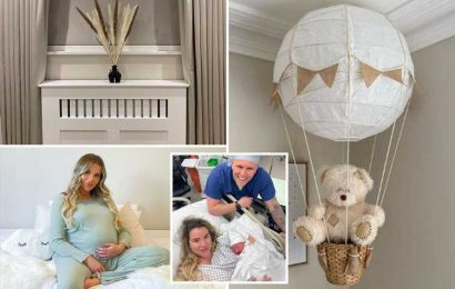 Inside Towie star Georgia Kousoulou's nursery as she welcomes her first child with boyfriend Tommy Mallet