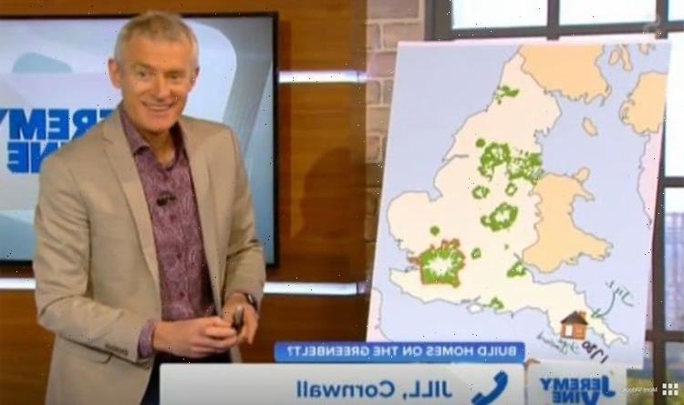 Jeremy Vine caller claims 'there's no water in Cornwall' in bizarre row