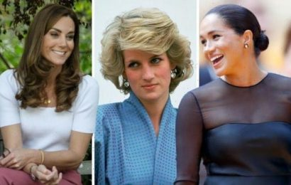 Kate Middleton's 'flawless' hairstyle envied more than Meghan's – but Diana comes first