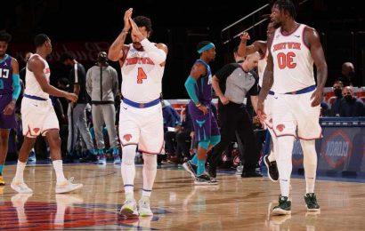 Knicks clinch at least an NBA play-in spot after Raptors loss