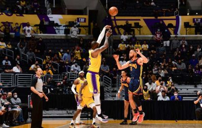 LeBron James was 'seeing three rims' while sinking Lakers game-winner