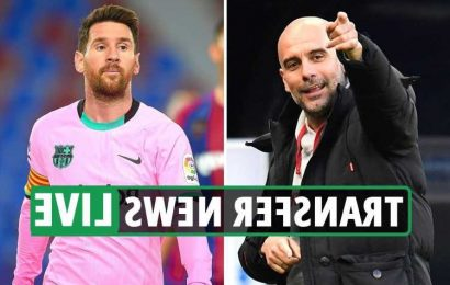 Lionel Messi Man City transfer back on EXCLUSIVE, Zidane 'tells Real Madrid players he is leaving in summer'