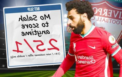 Liverpool vs Crystal Palace odds boost: 25/1 for Mo Salah to score in season finale