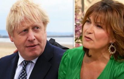 Lorraine Kelly takes swipe at Boris Johnson after The Masked Dancer UK rumours