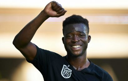 Man Utd and Liverpool ARE in Kamaldeen Sulemana transfer race, confirms £15m star's coach who tips Ajax as 'safe choice'