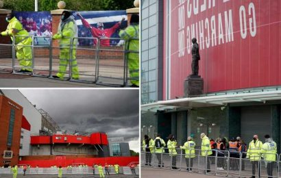 Man Utd launch anti-protest operation with top-secret Liverpool plans kept HIDDEN from staff as ring of steel is created