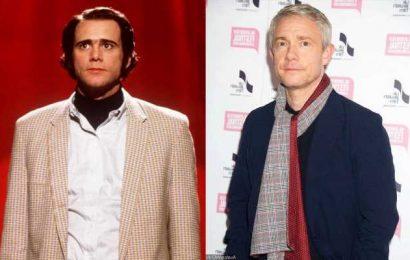 Martin Freeman Brands Jim Carrey 'Narcissistic B**locks' for Behavior on 'Man on the Moon' Set