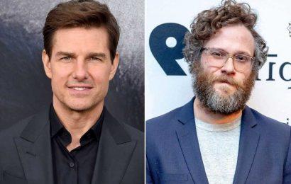 Seth Rogen reveals strange encounter with Tom Cruise