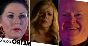 Sharon heartbroken as she discovers Phil and Kat's sex secret in EastEnders