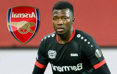 Six positions Arsenal plan to make transfers in this summer revealed with Edmond Tapsoba wanted as new centre-back