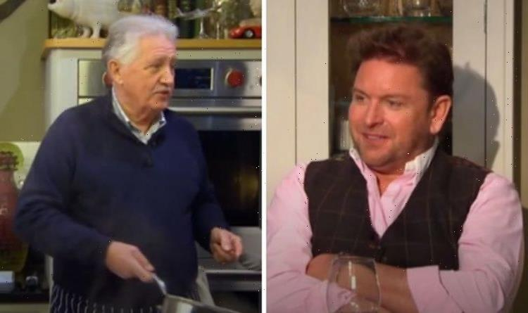 'Starting to worry' Brian Turner tells James Martin he's not been to Yorkshire in years