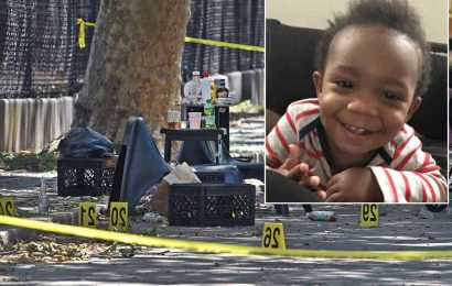 Suspect charged in fatal stray-bullet shooting of 1-year-old Davell Gardner