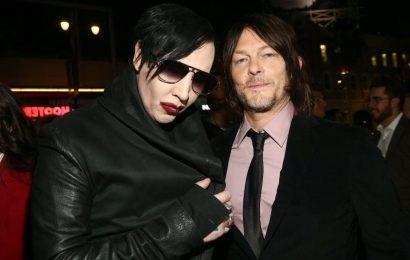 'The Walking Dead': Norman Reedus Took Marilyn Manson On a Joyride In a Sidecar