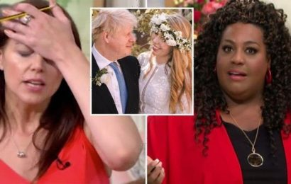 This Morning FURY over 'disgusting' comments of Boris wedding: 'What happened to Be Kind?'