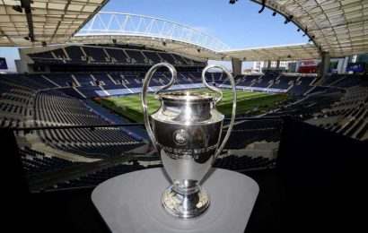 What is the Champions League trophy made out of, and do winners get to keep it?