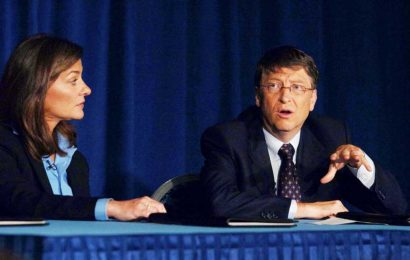 Who did Bill Gates have an affair with?