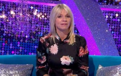 Who is replacing Zoe Ball on Strictly It Takes Two?