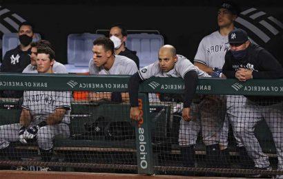 Yankees' growing list of worries won't make this easy