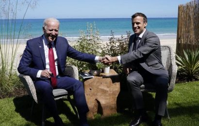 America is back: France's Macron says Biden is 'part of the club'